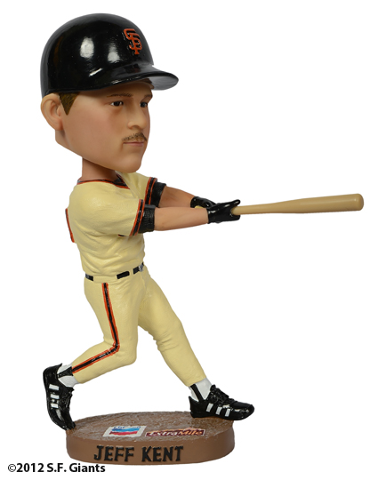 sf giants, san francisco giants, 2012, bobblehead, Jeff Kent