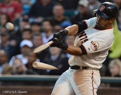 sf gaints, san francisco giants, photo, 2012, angel pagan