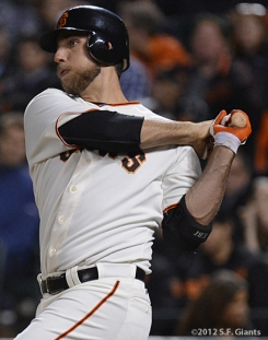 sf gaitns, san francisco giants, photo, 2012, madison bumgarner