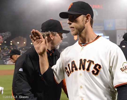 sf giants, san francisco giants, photo, 2012, madison bumgarner