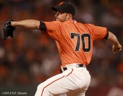 george kontos, sf giants, san francisco giants, photo, 2012
