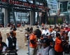 sf giants, san francisco giatnts, photo, 2012, 2002 player bobbleheads, fans