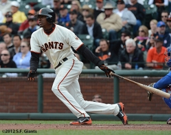joaquin arias, sf giants, san francisco giants, photo, 2012