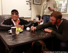 San Francisco, S.F. Giants, photo, 2012, Willie Mays, Dustin Johsnon