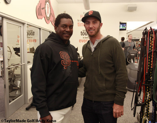 San Francisco Giants, S.F. Giants, photo, 2012, Hensley Meulens, Dustin Johnson