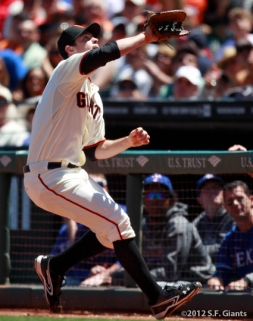 brandon belt, sf giants, san francisco giants, photo, 2012