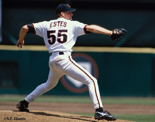 sf giants, san francisco giants, photo, shawn estes