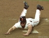 sf giants, san francisco giants, 2002, photo, NLCS, david bell