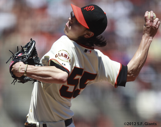 tim lincecum, sf giants, san francisco giants, photo, 2012