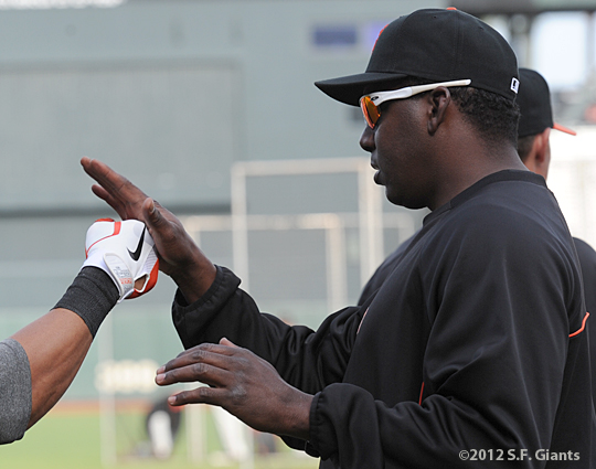 birthday, sf giants, san francisco giants, photo, 2012, bam bam meulens, hensley meulens