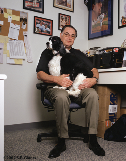 spca, sf giants, calendar, san francisco giants, photo, 2002, mike murphy