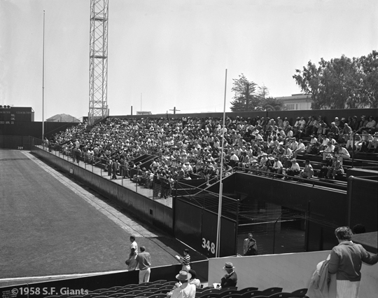1958, san francisco giants, sf giants, photo, fans,