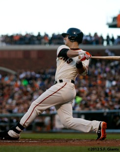 San Francisco Giants, S.F. Giants, photo, 2012, Buster Posey