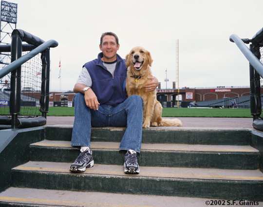 spca, sf giants, calendar, san francisco giants, photo, 2002, dave righetti