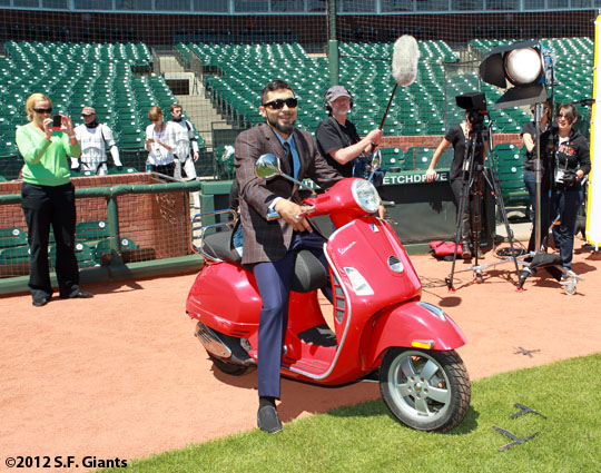 San Francisco Giants, S.F. Giants, photo, 2012, Sergio Romo
