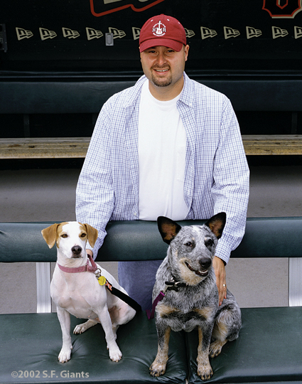 spca, sf giants, calendar, san francisco giants, photo, 2002, jason schmidt