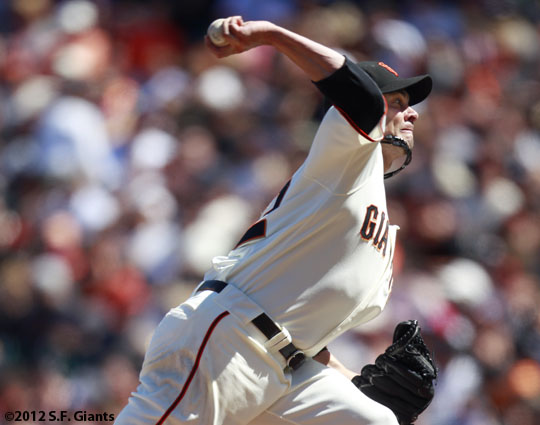 ryan vogelsong, sf giants, san francisco giants, 2012, photo