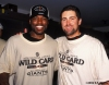 2002 Wild Card Clinch, sf giants, san francisco giants, photo, rich aurilia, reggie sanders