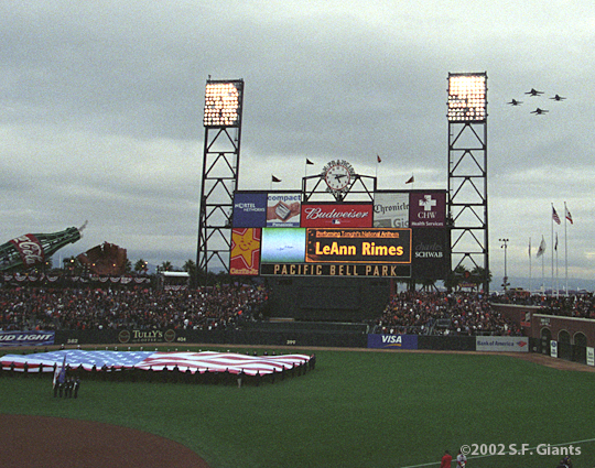 sf giants, 2002, world series, san francisco giants, photo, AT&T Park