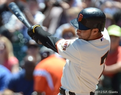 gregor blanco, sf giants, san francisco giants, photo, 2012,