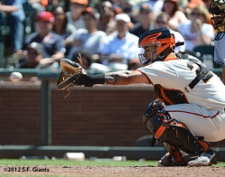 hector sanchez, sf giants, san francisco giants, photo, 2012