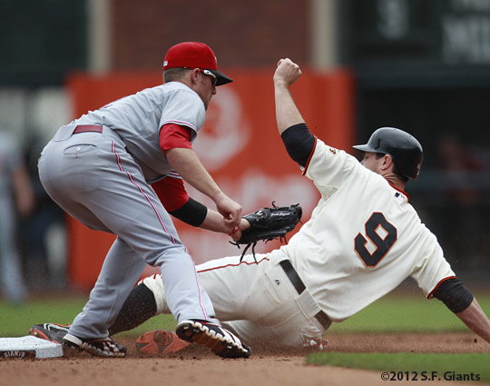 sf giants, san francisco giant, photo, 2012, brandon belt