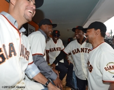 Ramon Martinez, Calvin Murray, Reggie Sanders, Barry Bonds & Marvin Benard