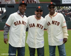 2002 team reunion, sf giants, san francisco giants, photo, 2012, kenny lofton, marvin benard, calvin murray