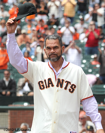 benito santiago, 2002 team reunion, sf giants, san francisco giants, photo, 2012