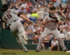 sf giants, san francisco giants, photo, 2012, buster posey, tim lincecum