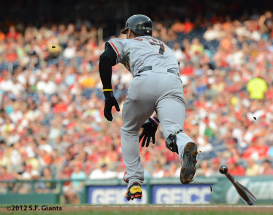 sf giants, san francisco giants, 2012, photo, gregor blanco