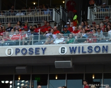 sf giants, san francisco giants, photo, 2012, posey, wilson