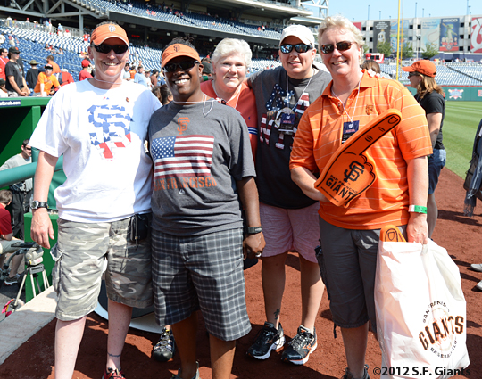 sf giants, san francisco giants, photo, 4th of july, july 4, 2012, fans