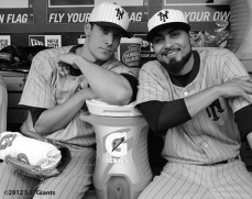 Javier Lopez & Sergio Romo