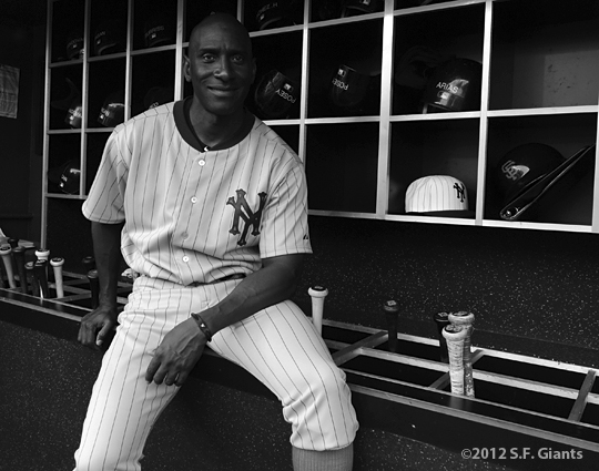sf giants, san francisco giants, ny giants, new york giants, 1924, 2012, photo, turn back the clock, roberto Kelly