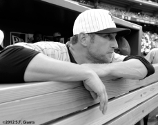 sf giants, san francisco giants, ny giants, new york giants, 1924, 2012, photo, turn back the clock, shane Loux