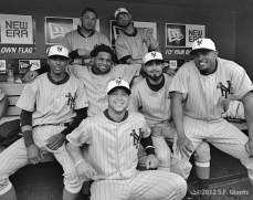 sf giants, san francisco giants, ny giants, new york giants, 1924, 2012, photo, turn back the clock, barry zito