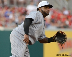 sf giants, san francisco giants, photo, 2012, ny giants, new york giants, 1924, turn back the clock, pablo sandoval