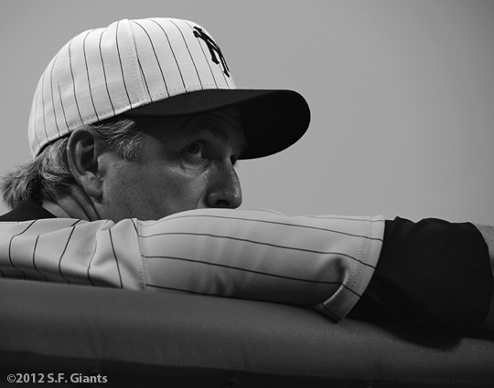 sf giants, san francisco giants, ny giants, new york giants, 1924, 2012, photo, turn back the clock, ron wotus