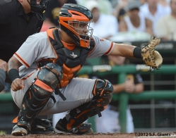 sf giants, san francisco giants, photo, 2012, hector sanchez