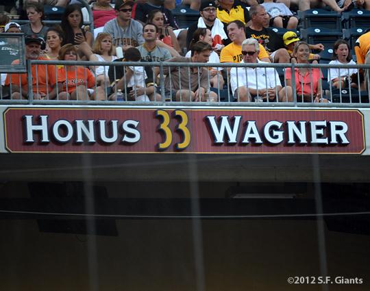 sf giants, san francisco giants, photo, 2012, honus wagner