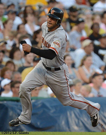sf giants, san francisco giants, photo, 2012, justin christian