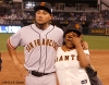 sf giants, san francisco giants, photo, 2012, all star game, july 10, melky cabrera, mom