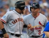 sf giants, san francisco giants, photo, 2012, all star game, july 10, carlos beltran, melky cabrera