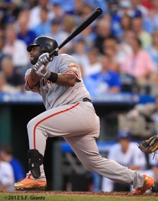 sf giants, san francisco giants, photo, 2012, all star game, july 10, pablo sandoval