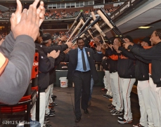 sf giants, san franciso giants, photo, 2012, knighting ceremony, netherlands, bambam meulens, hensley meulens, team