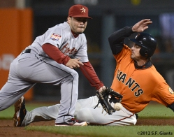 sf giants, san francisco giants, photo,2012, ryan theriot
