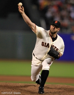 sf giants, san francisco giants, photo, 2012, BRAD PENNY