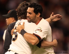 sf giants, san francisco giants, photo, 2012, angel pagan