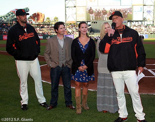 tim flannery, bob weir, bryan stow, the luncatic fringe, uptown theater, sf giaints, san francisco giants, photo, 2012, jeremy affeldt